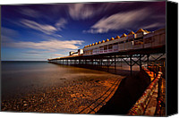 Rusty Digital Art Canvas Prints - Victoria Pier Canvas Print by Adrian Evans