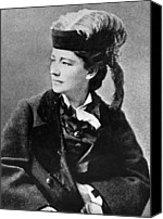1890s Portrait Canvas Prints - Victoria Woodhull 1838-1927, Early Canvas Print by Everett