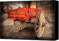 Carriage Canvas Prints - Victorian Cart Canvas Print by Adrian Evans