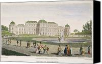 Belvedere Castle Canvas Prints - Vienna: Belvedere, 1822 Canvas Print by Granger