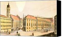 Viennese Canvas Prints - Vienna: Lobkowitz Palace Canvas Print by Granger