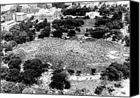 The White House Canvas Prints - Vietnam War, Aerial Photograph Of Huge Canvas Print by Everett