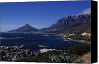 Drive Canvas Prints - View From Chapmans Peak Drive Canvas Print by Stacy Gold