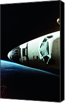 Challenge Canvas Prints - View Of The Nose Of Space Shuttle Canvas Print by Stockbyte