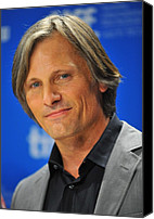 At The Press Conference Canvas Prints - Viggo Mortensen At The Press Conference Canvas Print by Everett