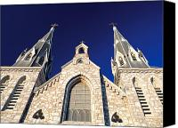 Church Photos Canvas Prints - Villanova St. Thomas Canvas Print by Aurora Imaging Company