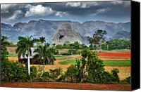 Del Rio Photo Canvas Prints - Vinales. Pinar del Rio. Cuba Canvas Print by Juan Carlos Ferro Duque