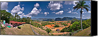 Del Rio Photo Canvas Prints - Vinales Valley. Pinar del Rio. Cuba Canvas Print by Juan Carlos Ferro Duque