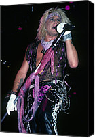 Rich Fuscia Canvas Prints - Vince Neil  Canvas Print by Rich Fuscia