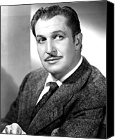 Publicity Shot Canvas Prints - Vincent Price, Early 1950s Canvas Print by Everett