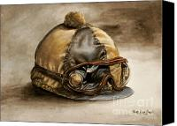 Thomas Canvas Prints - Vintage Cap Canvas Print by Thomas Allen Pauly