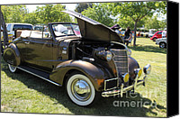 American Car Canvas Prints - Vintage Chevrolet . 5D16161 Canvas Print by Wingsdomain Art and Photography