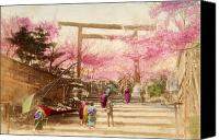 Archival Canvas Prints - Vintage Japanese Art 25 Canvas Print by Hawaiian Legacy Archive - Printscapes