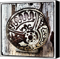 Instagram Canvas Prints - Vintage Knob Canvas Print by Ken Powers