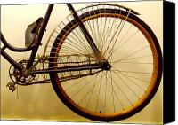 Remington Canvas Prints - Vintage Remington Bike Canvas Print by Lori Seaman