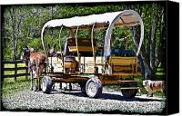 Susan Leggett Canvas Prints - Vintage Transportation Canvas Print by Susan Leggett