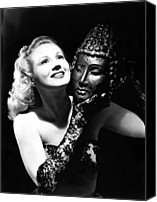 Opera Gloves Canvas Prints - Virginia Mayo, Ca. Early 1940s Canvas Print by Everett