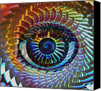 Eyes Canvas Prints - Visionary Canvas Print by Gwyn Newcombe