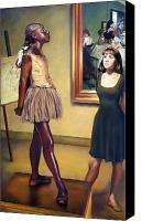 Dancer Canvas Prints - Visit to the Museum Canvas Print by Patrick Anthony Pierson