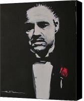 Marlin Canvas Prints - Vito Andolini Corleone Canvas Print by Eric Dee