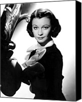 Publicity Shot Canvas Prints - Vivien Leigh, C. 1950s Canvas Print by Everett