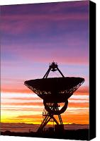 Mauna Kea Canvas Prints - VLBA at sunrise 2 Canvas Print by David Nunuk