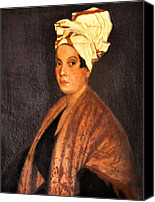 Bobby Canvas Prints - Voodoo Queen - Marie Laveau Canvas Print by Bill Cannon