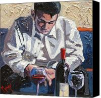 Cakebread Canvas Prints - Waiting for Her Again Canvas Print by Christopher Mize