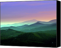 Appalachia Photo Canvas Prints - Waiting For Twilight... Canvas Print by Deb Howell