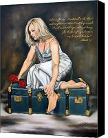 Ilse Kleyn Painting Canvas Prints - Waiting on the Lord Canvas Print by Ilse Kleyn