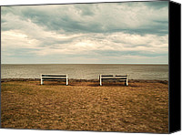 Landscapes Special Promotions - Waiting Canvas Print by Osvaldo Hamer
