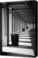 Concrete Canvas Prints - Walkway Canvas Print by Scott Norris