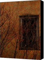 Creepy Canvas Prints - Walls And Stones Canvas Print by Jerry Cordeiro