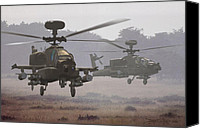 Apache Canvas Prints - Waltz of the Hunters Canvas Print by Dieter Carlton