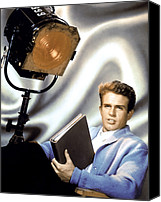 Publicity Shot Canvas Prints - Warren Beatty, Ca. 1960s Canvas Print by Everett