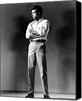 Publicity Shot Canvas Prints - Warren Beatty, Publicity Shot For All Canvas Print by Everett