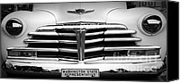 Monochrome Hot Rod Canvas Prints - Washington State Representative Canvas Print by Chalet Roome-Rigdon