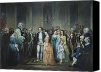 First Couple Canvas Prints - Washingtons Marriage Canvas Print by Granger