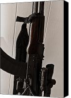 10:7 Canvas Prints - WASR-10 AK-47 Variant Canvas Print by Erik Hovind