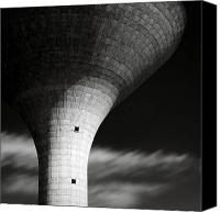 Dave Canvas Prints - Water Tower Canvas Print by David Bowman