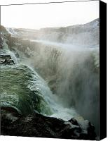 Unique Art. Photo Canvas Prints - Waterfall 2 Canvas Print by Oliver Johnston