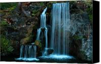 Bruster Canvas Prints - Waterfalls Canvas Print by Clayton Bruster