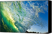 Capture Canvas Prints - Wave Splash Canvas Print by Quincy Dein - Printscapes