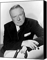 Publicity Shot Canvas Prints - W.c. Fields, Paramount Pictures, 1935 Canvas Print by Everett