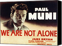 Posth Canvas Prints - We Are Not Alone, Paul Muni, 1939 Canvas Print by Everett