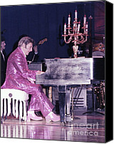 Liberace Canvas Prints - We Will Be Seeing You Lee Liberace Canvas Print by Wayne Nielsen