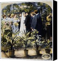 Bridesmaid Canvas Prints - Wedding Party, 1897 Canvas Print by Granger