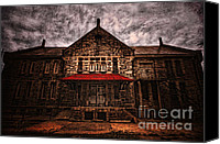Eerie Canvas Prints - Welcome Canvas Print by Andrew Paranavitana