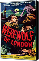 Horror Fantasy Movies Canvas Prints - Werewolf Of London, Warner Oland, Henry Canvas Print by Everett