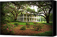 Florida State Canvas Prints - Wesley House Canvas Print by Sandy Keeton